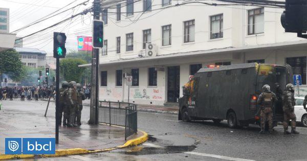 Concejales de Puerto Montt piden mayor control para evitar desmanes tras manifestaciones - BioBioChile