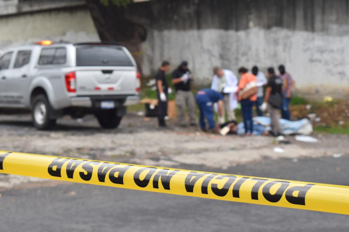 Escena de crimen / Oscar Rivera / AFP