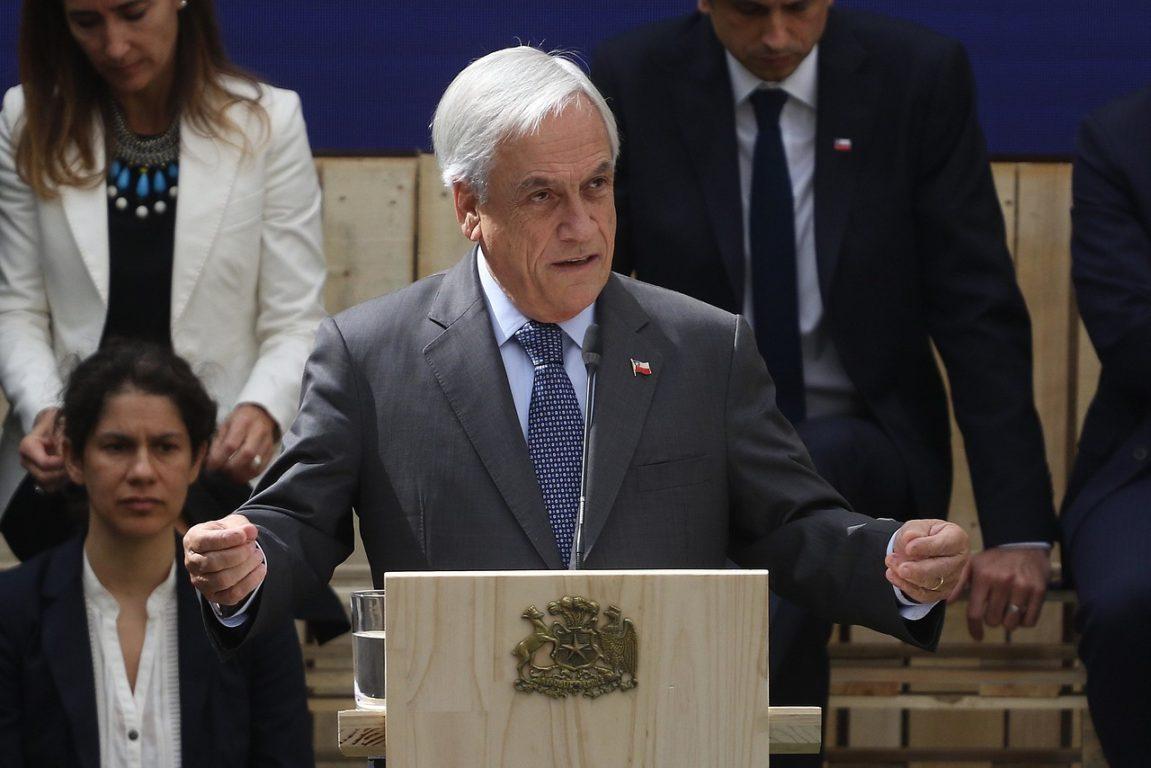 11 de abril de 2019   El Presidente de la Republica, Sebastián Piñera encabeza el lanzamiento de los trabajos para la cumbre sobre cambio climático COP 25   Agencia UNO