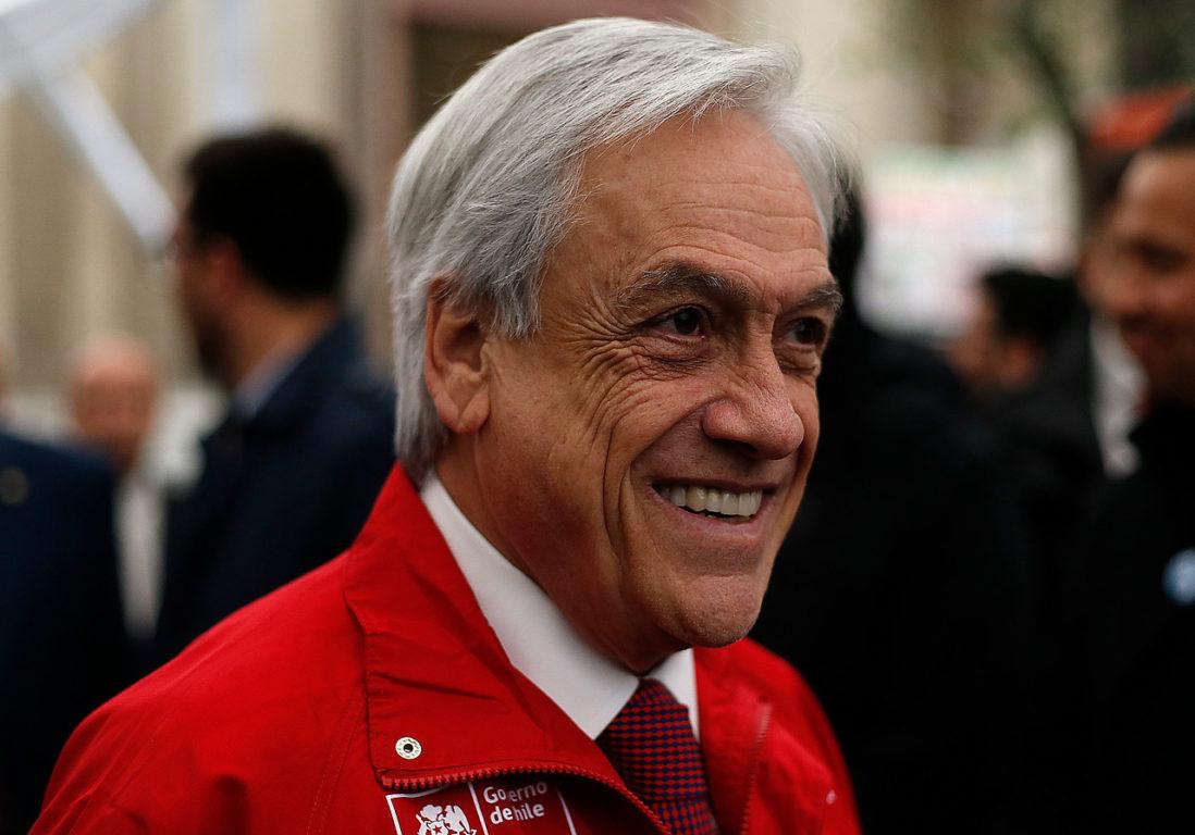 14 de Octubre del 2019   Sebastián Piñera durante el inicio de la Octava Semana de la Pyme   Agencia UNO