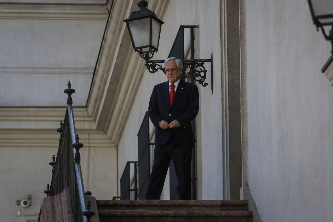 20 de Octubre de 2019   El presidente de la república, Sebastián Piñera, recibe al presidente de la Camara de diputado, del Senado, y el presidente de la Corte Suprema   Agencia UNO
