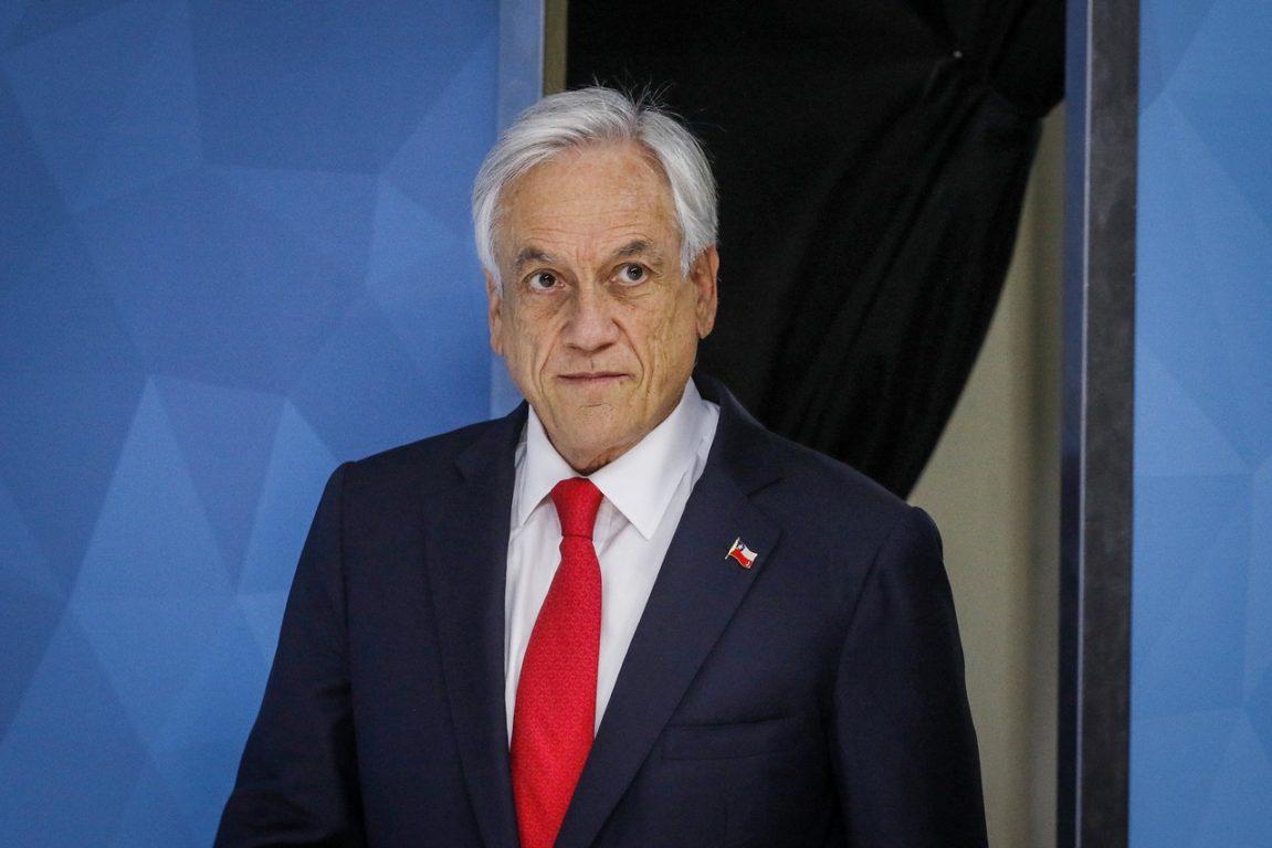22 de octubre de 2019   El presidente de la Republica, Sebastián Piñera, presenta una agenda social   Agencia UNO