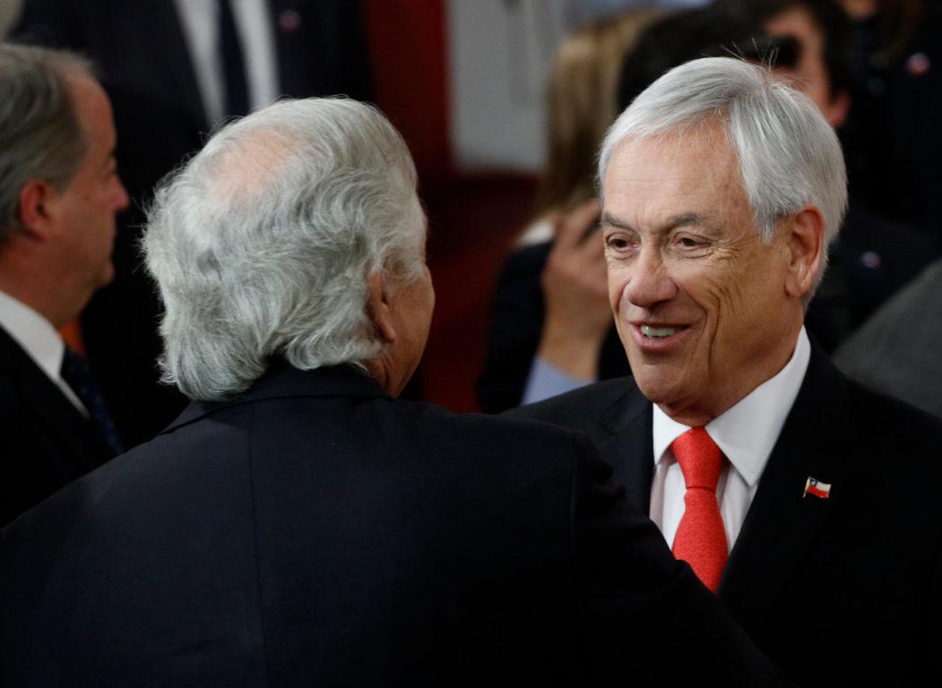 28 de Octubre de 2019   Sebastian Piñera realiza el cambio de su gabinete tras el estallido social   Agencia UNO