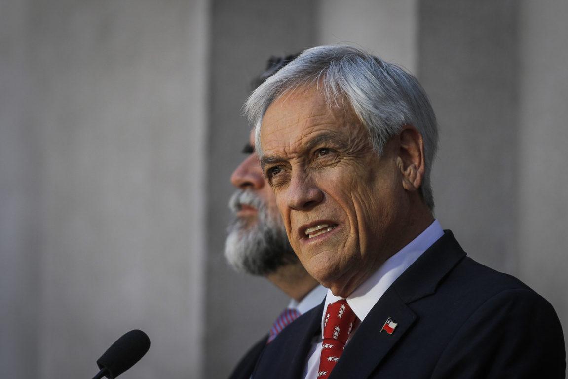 6 de Noviembre de 2019   Sebastián Piñera cita al COSENA   Agencia UNO