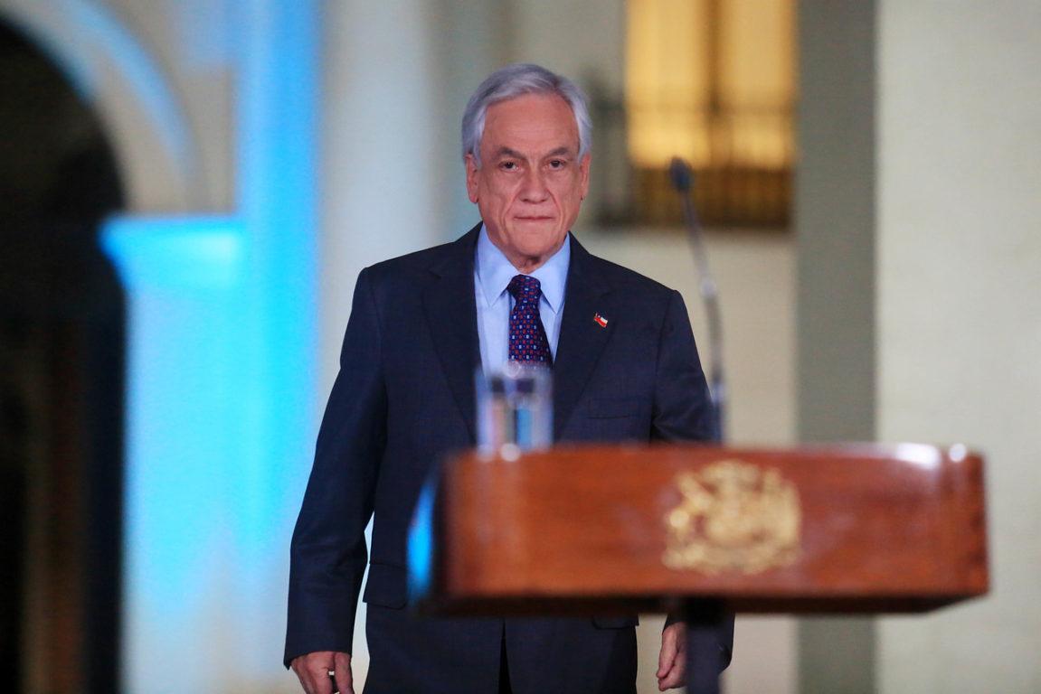 17 de Noviembre de 2019    Presidente Piñera se dirige al país, habla sobre pacto para plebiscito por una nueva Constitución   Agencia UNO