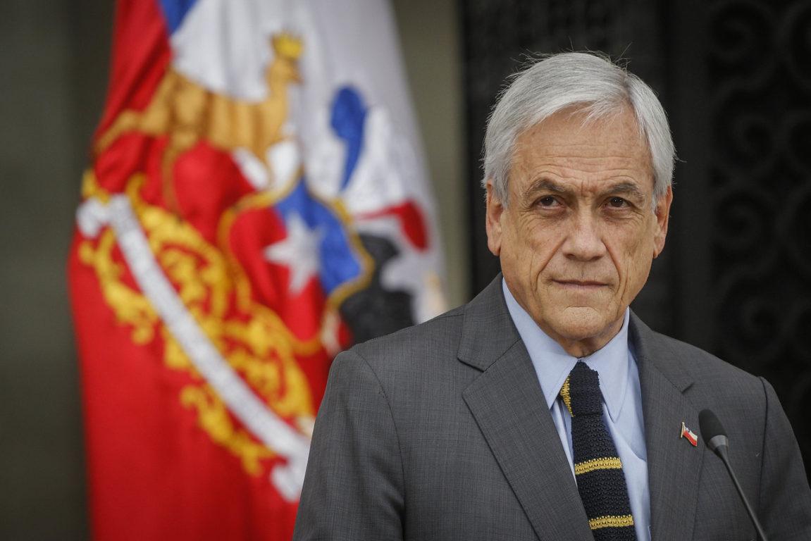 25 de Noviembre de 2019   Sebastián Piñera habla tras reunirse con ministros de gobierno y presidentes de los poderes del estado   Agencia UNO