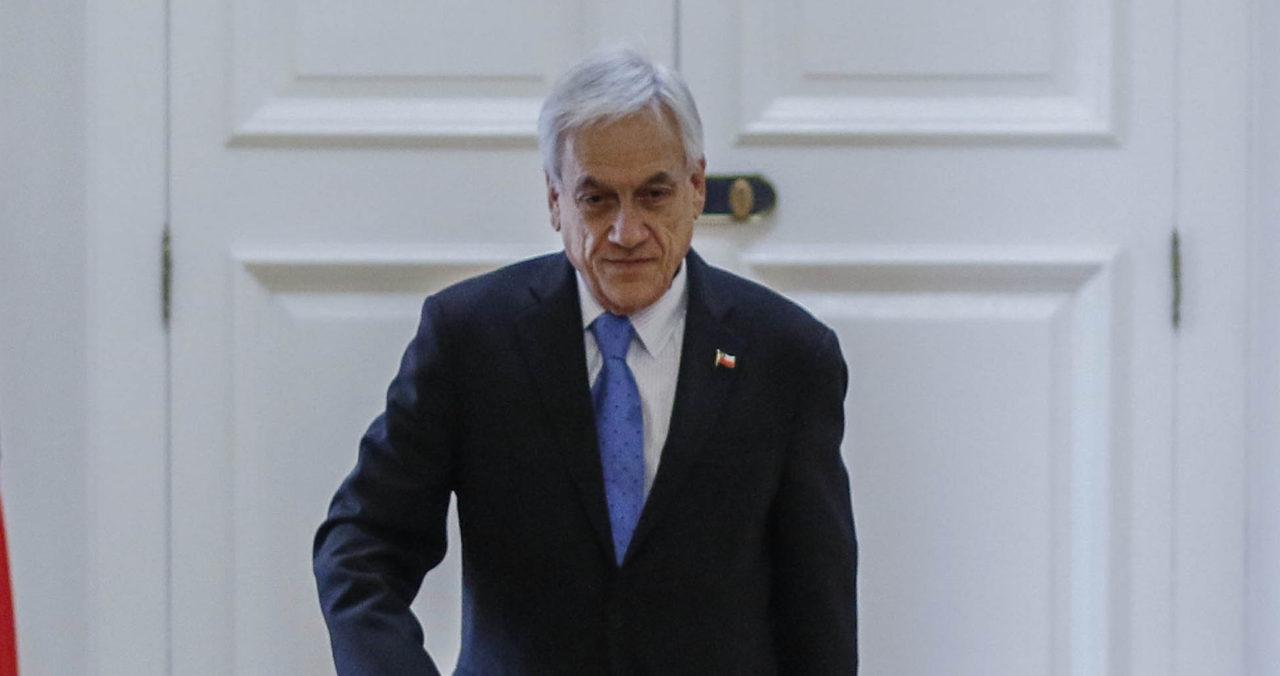 26 de Noviembre de 2019   Sebastian Piñera recibe en audiencia a representantes del empresariado   Agencia UNO