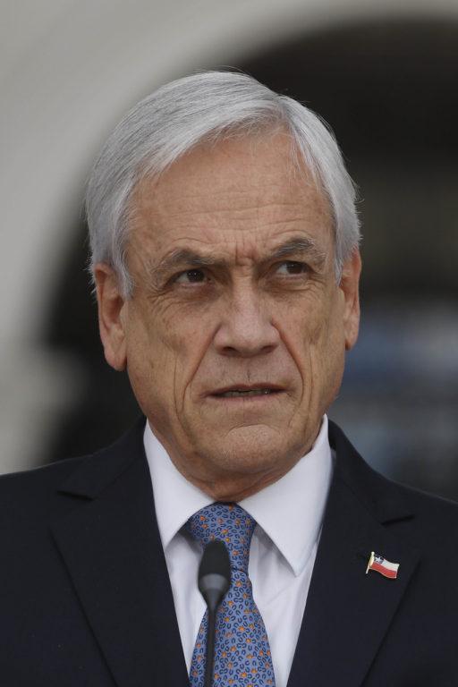 27 de Noviembre de 2019    Sebastian Piñera habla sobre las medidas tomadas para reforzar el trabajo de Carabineros en las calles, en el marco de las manifestaciones sociales   Agencia UNO
