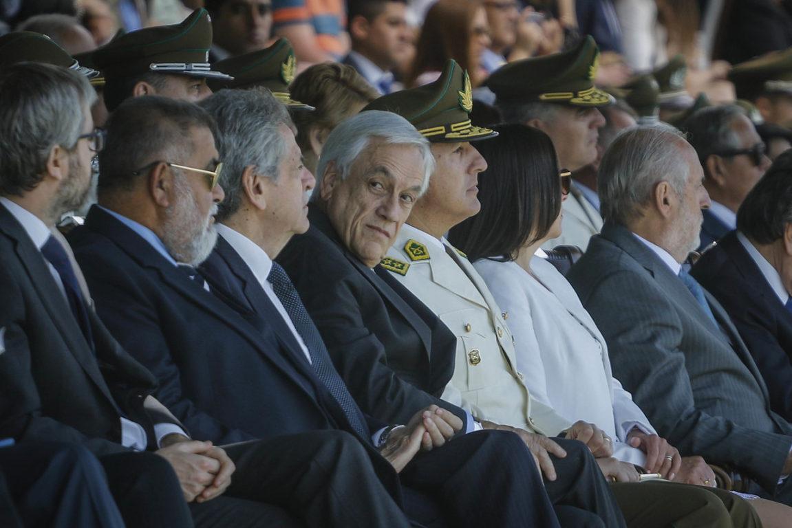 29 de Noviembre de 2019   Sebastián Piñera participa de la Graduación de oficiales de la escuela de Carabineros de Chile   Agencia UNO