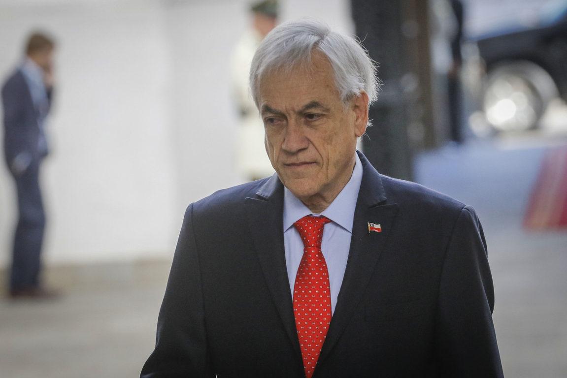 2 de Diciembre de 2019   Sebastian Piñera llega al Palacio de la moneda, y recibe los tradicionales honores de la Guardia de Palacio   Agencia UNO