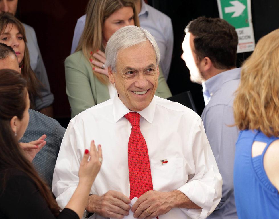 3 de Diciembre de 2019   Piñera se reunió con Pymes en la comuna de Maipú, en donde se refirió a la inyección de dinero para recuperar la economía   Agencia UNO
