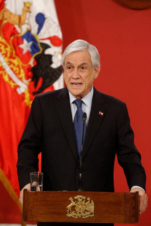 10 de Diciembre de 2019   Sebastián Piñera conmemora el Día Internacional de los Derechos Humanos   Agencia UNO