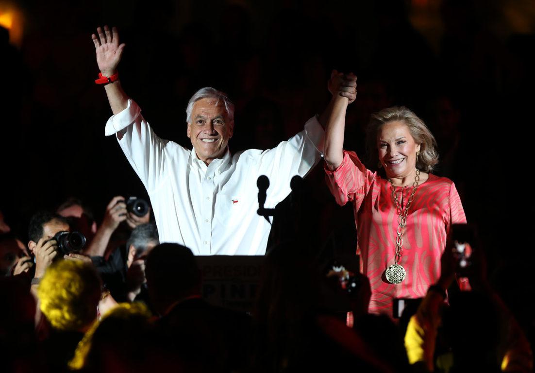 16 de Noviembre del 2017   Sebastián Piñera realiza cierre de su campaña presidencial, junto a parlamentarios y adherentes, en el Parque Renato Poblete de la Comuna de Quinta Normal   Agencia UNO