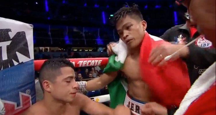 No pudo 'Aguja' González: chileno perdió por TKO pelea por el título mundial de la FIB ante Ancajas