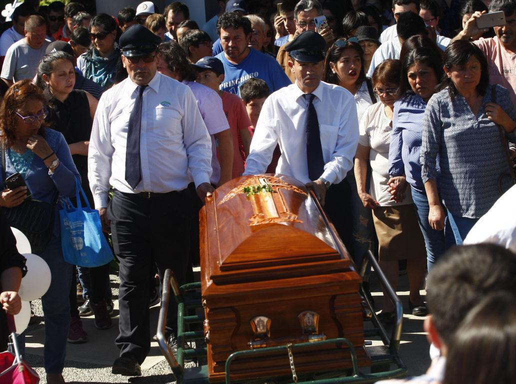 Funeral de José Miguel Uribe | Agencia UNO