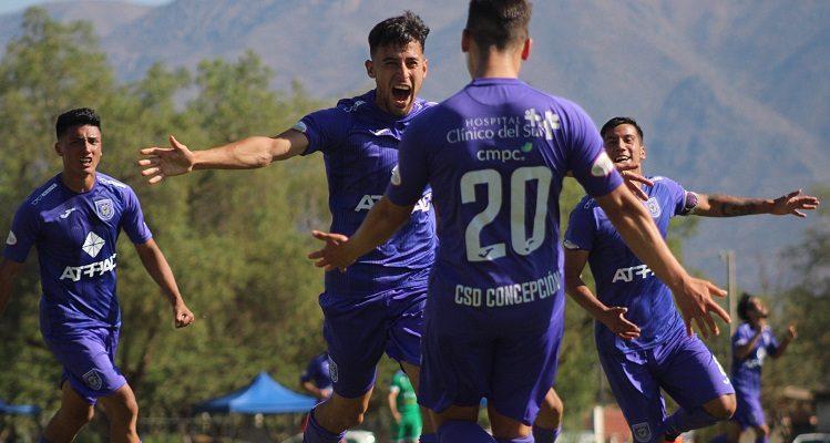 Tercera A: Concepción rugió ante Trasandino y tendrá 'final' ante Limache por un cupo a Segunda