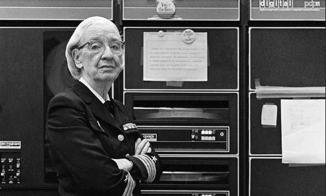 Grace Hopper (CC) Wikimedia Commons