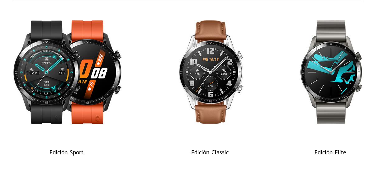 Modelos Huawei GT Watch 46mm