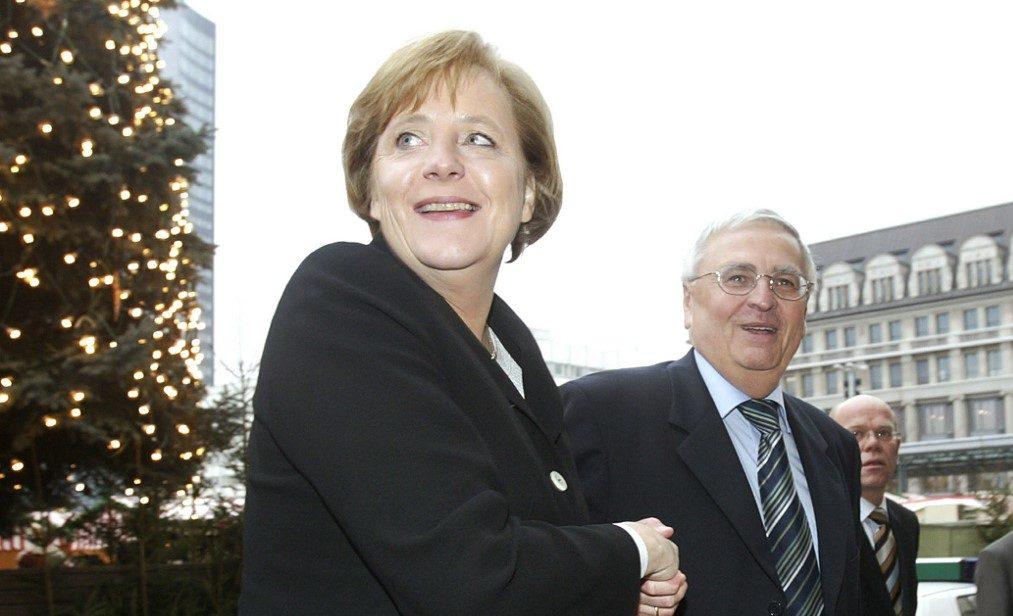Angela Merkel en 2006 | ARCHIVO | AFP