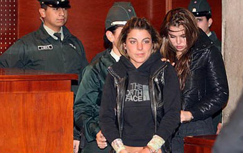 Orsini y Mestrovic en su detención | Archivo