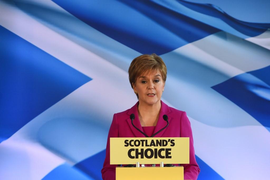 Nicola Sturgeon | ARCHIVO | AFP