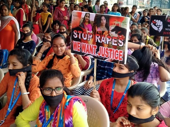 Portestas por el caso en India | India Times