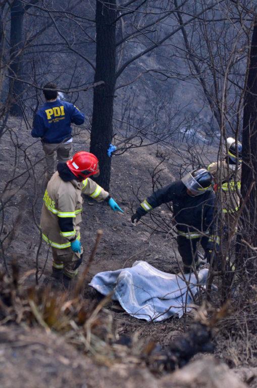 Rescate de cuerpos | Agencia UNO