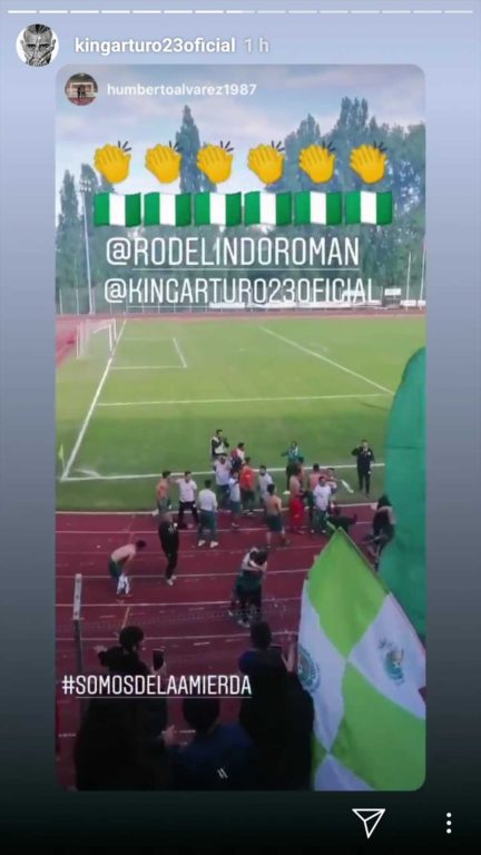 Instagram Arturo Vidal