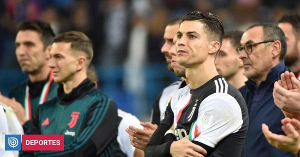 El criticado gesto de Cristiano Ronaldo tras derrota de Juventus ante Lazio en la Supercopa italiana | Fútbol | BioBioChile