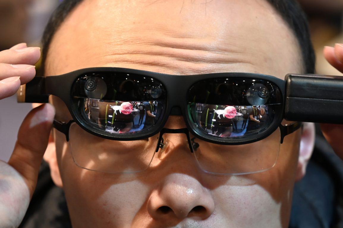 Lentes de realidad aumentada NReal | Agence France-Presse