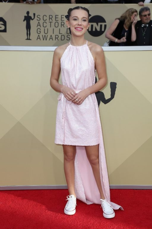 Millie Bobby Brown en los SAG 2019 | Frederick M. Brown | Getty Images | AFP