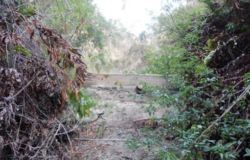 Estero El Jote actualmente | Extraída de recurso de protección de vecinos