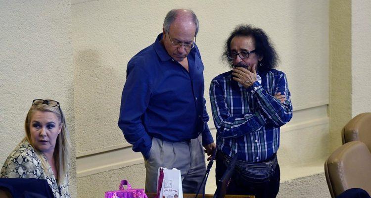 Pamela Jiles , Tomás Hirsch y Florcita Alarcón | Pablo Ovalle | Agencia Uno