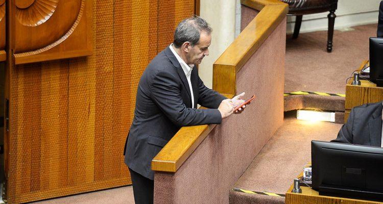Senador RN Andres Allamand | Pablo Ovalle | Agencia Uno