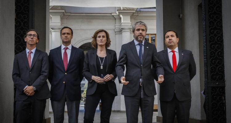 Ministros de Interior y Educación hablan sobre la realización de la PSU | Sebastian Beltran | Agencia Uno