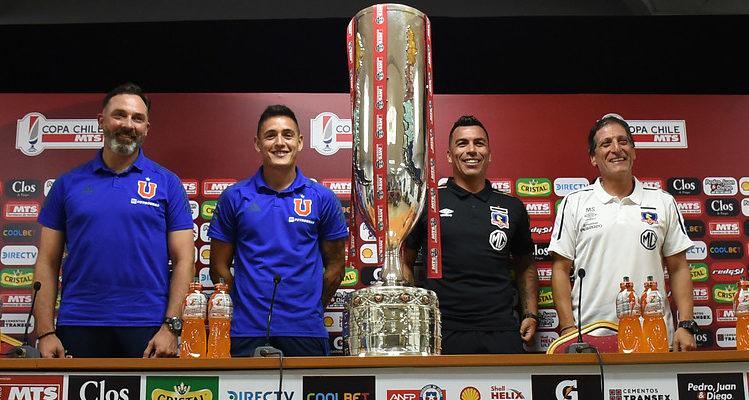 El primer Superclásico del año: Colo Colo y U. de Chile definen en Temuco al campeón de Copa Chile