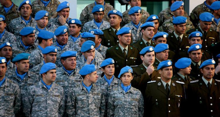 Aniversario del Centro Conjunto para Operaciones de Paz de Chile   David Cortes   Agencia Uno