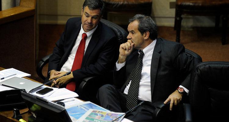 Manuel José Ossandón y Andres Allamand | Pablo Ovalle | Agencia Uno