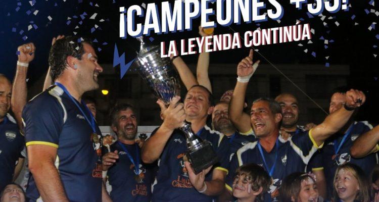 CD Alumni fue campeón en categoría +35 en el Rugby Seven Viña 2020
