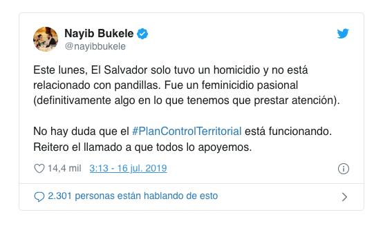 Twitter / @nayibbukele
