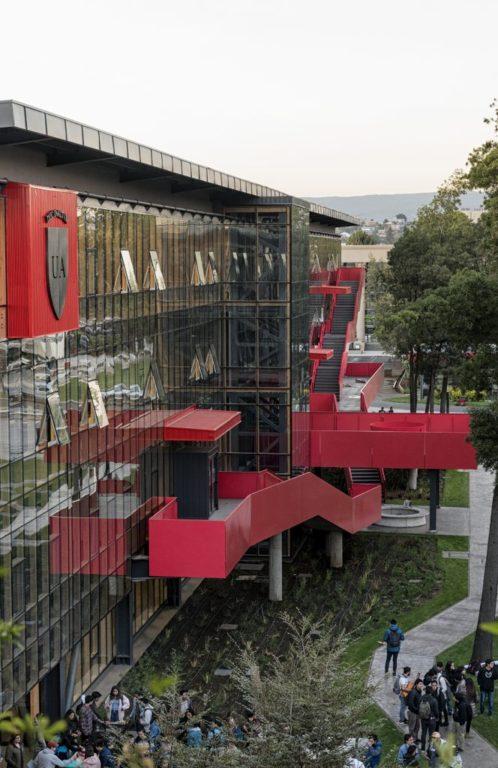 Edificio K, Universidad Autónoma, Daniel Schmidt y asociados | www.schmidtrestrepo.cl