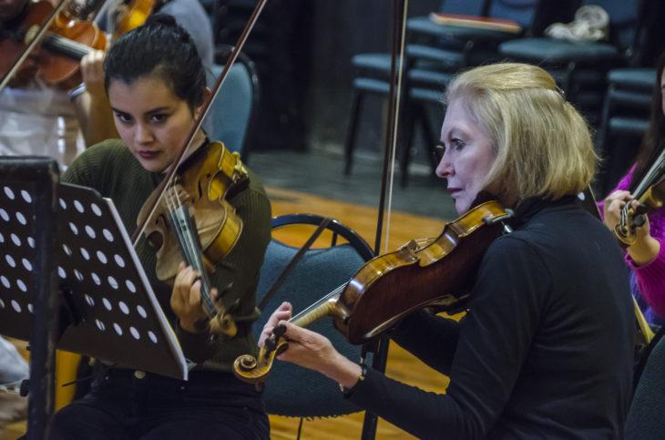 Ensayo violines   Cedida