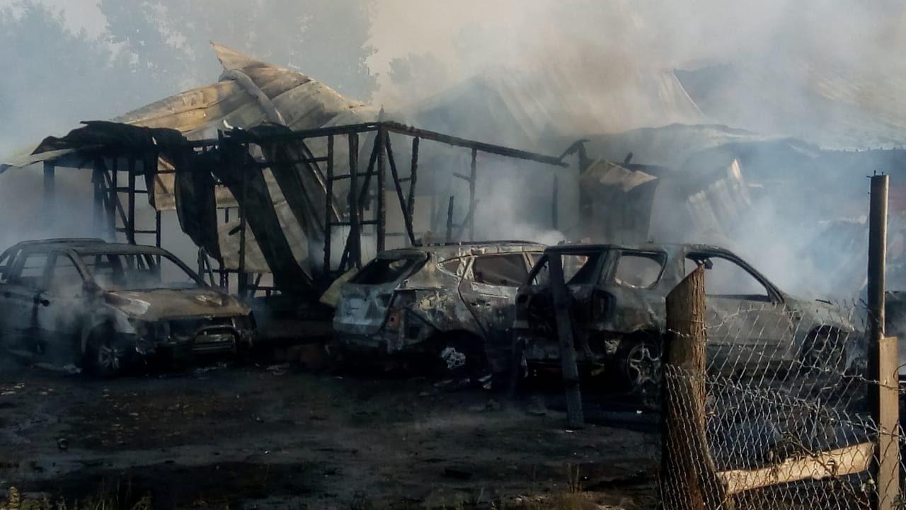 Incendio en Pinto | Cedida