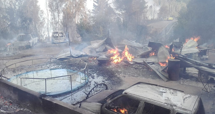 Cedida a RBB   Incendio en Pinto
