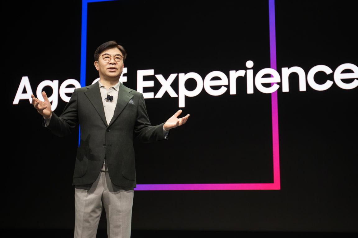 HS Kim, presidente y CEO de la División Consumer Electronics de Samsung Electronics