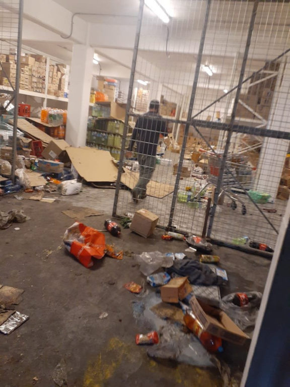Unimarc saqueado   Cámara de Comercio Antofagasta