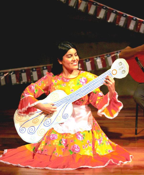 Una Parra Violeta, ella y su música | Cedida