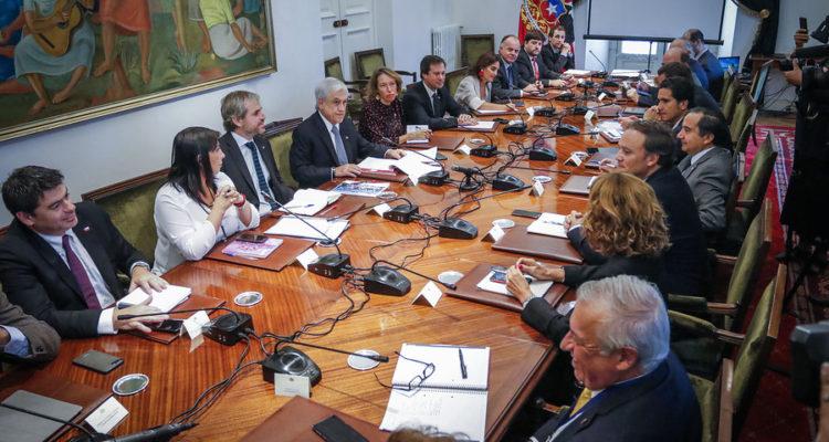 Presidente sostiene reunión de gabinete | Sebastian Beltran | Agencia Uno