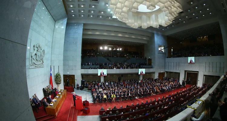 Cuenta Pública Presidencial   Christel Andler   Cámara de Diputados   Agencia UNO