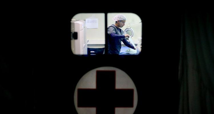 Hospital Modular de Campaña del Ejército   Cristobal Escobar   Agencia Uno